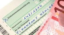 Einkommensteuererklärung / German income tax